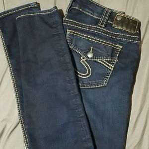 Silver jeans 30x33 never worn